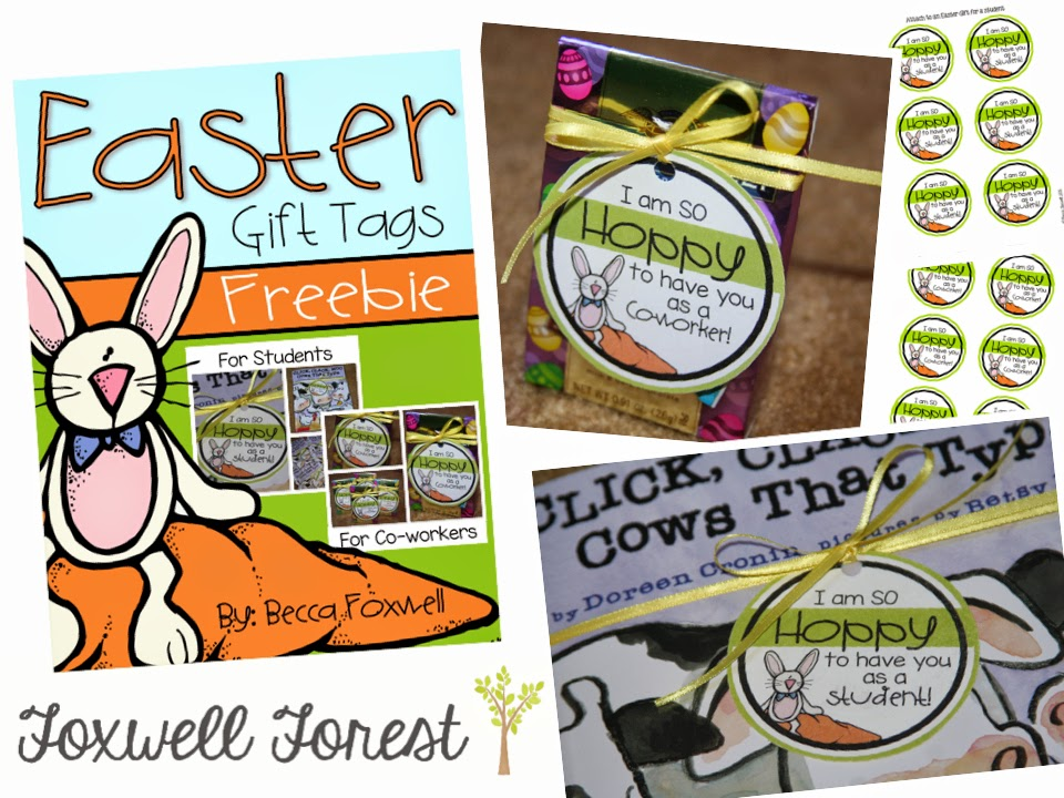 Easter gift tag freebie foxwell forest easter gift tag freebie negle
