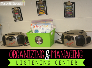 Organizing and Managing Listening Center